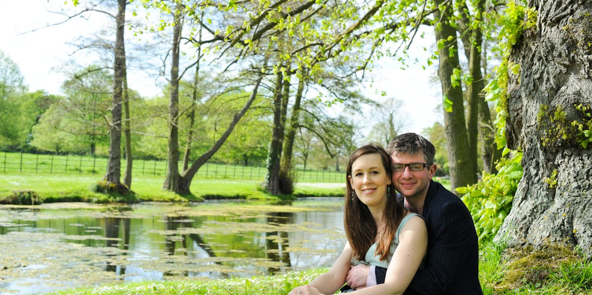 Thomasin & Roland - Pre wedding photography Hartwell House