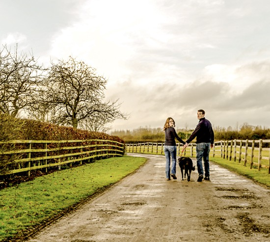 Bicester pre wedding shoot - Yvonne and Jeremy