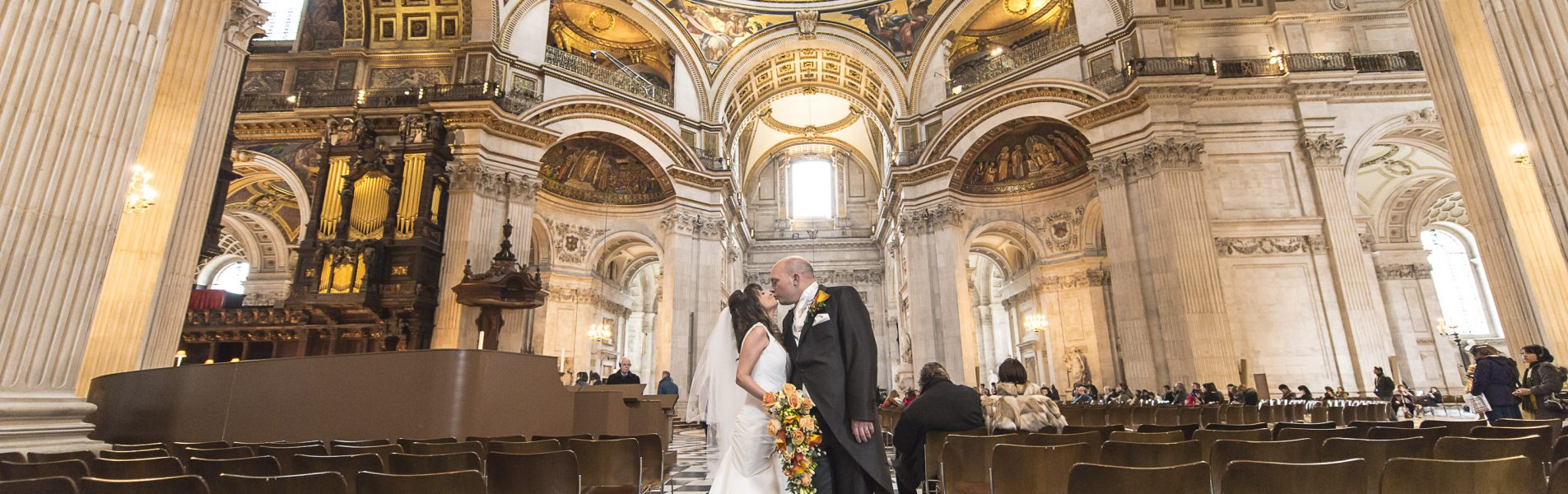 St Paul's Cathedral wedding