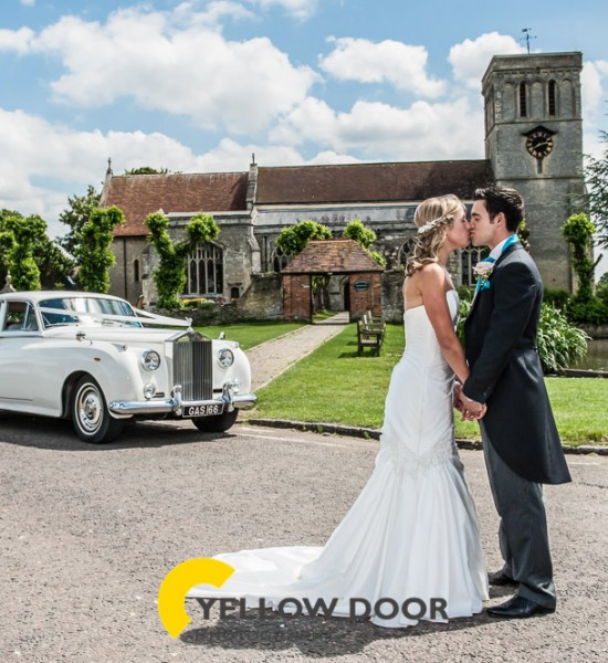 A Summer wedding at Notley Tythe Barn
