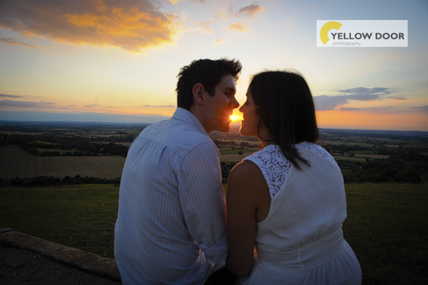 Coombe Hill engagement photography