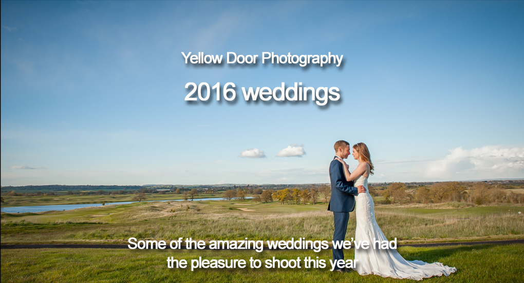 2016 wedding photography. A year in review