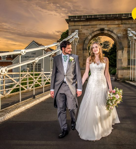 Laura & Christians wedding at the Compleat Angler in Marlow